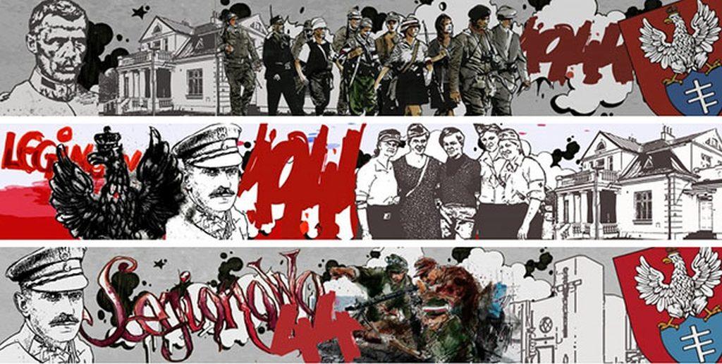 Bitwy na cianie legionowo redakcja poleca miejscowa for Mural legionowo